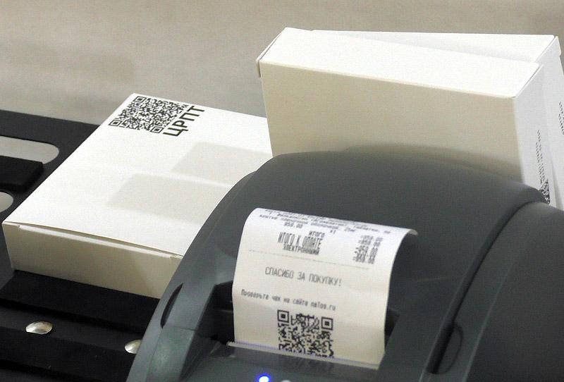 При торговле маркированными товарами временно можно использовать неадаптированную ККТ